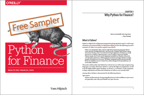 Python for Finance (2nd ed ) — Mastering Data-Driven Finance (O'Reilly)